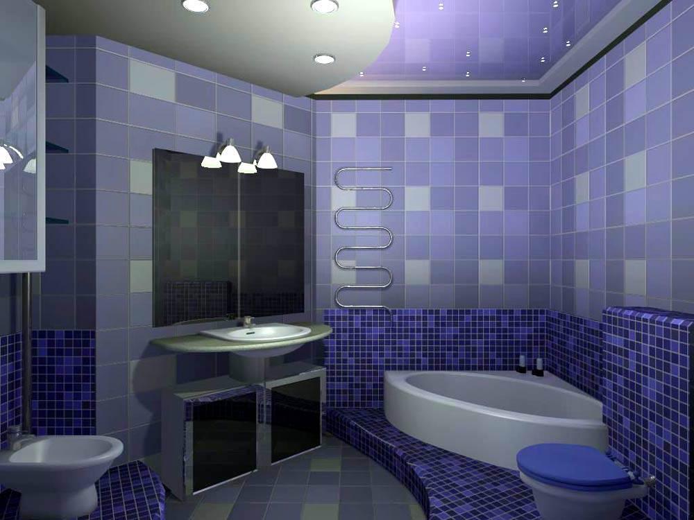 CG生成的浴室