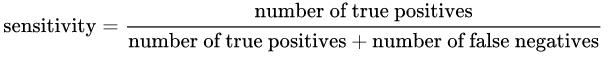 灵敏度公式