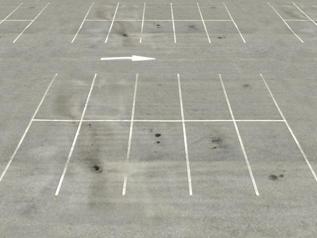 空旷的停车场